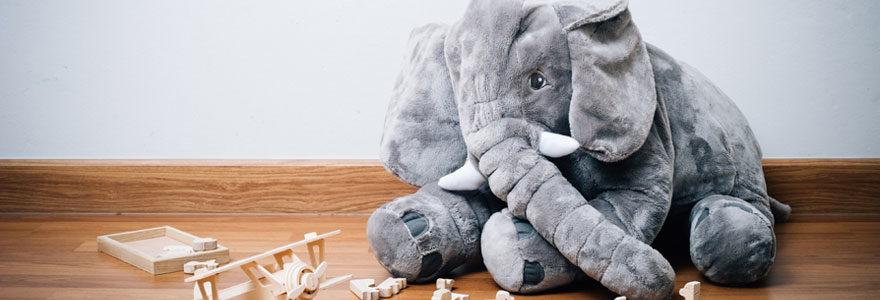 Décoration en éléphant